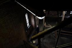 Im Treppenhaus von St.Petri