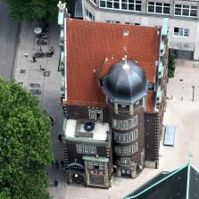 Blick von St.Petri in Hamburg