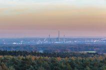 Kraftwerk bei Gelsenkirchen, fast romantisch