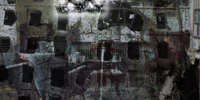 """Collage einer """"Guten Stube"""""""