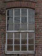 Fenster zur alten Zimmerei in der Mergelkuhle bei Reken