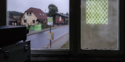 Stubbenkammerstraße in Hagen - Blick aus dem Plattenbau