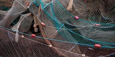 Netze in Kap Arkona
