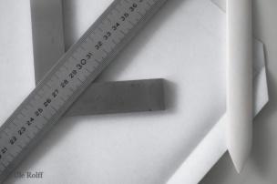 Einbandgewebe mit Werkzeug