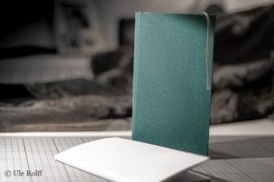 Buchblock und Buch