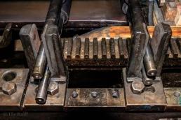 Druckmaschine, Detail