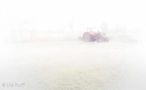 Trecker im Nebel