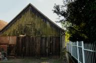 Stallgebäude hinter Funkes Schweinestall, gehört zum Nachbarhof - Barn building behind Funke's pigsty, belongs to the neighboring farm