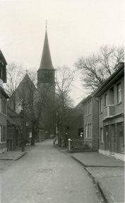 Dorfstraße in der Nähe von Funkes Schweinestall Dorfstraße near Funke' s Pigsty